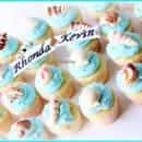 130x130 sq 1398377413808 beach seashells bridal shower cupcakes pina colada