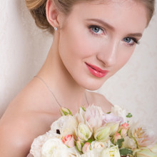 220x220 sq 1414640781279 bridal makeup and hairstyle updo by agne skaringa