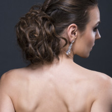 220x220 sq 1429932053886 beauty affair bridal hair style updo by agne skari