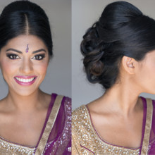 220x220 sq 1429932109680 before and after indian natural headshot makeup an