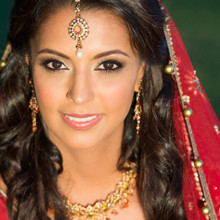 220x220 sq 1474948527712 the big affair photography indian bridal makeup br