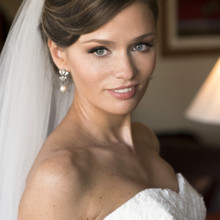 220x220 sq 1488673328395 bridal makeup updo blue eyes brunette by agne skar