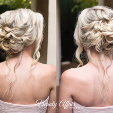 220x220 sq 1488673358868 romantic updo bridal wedding makeup hair los angel