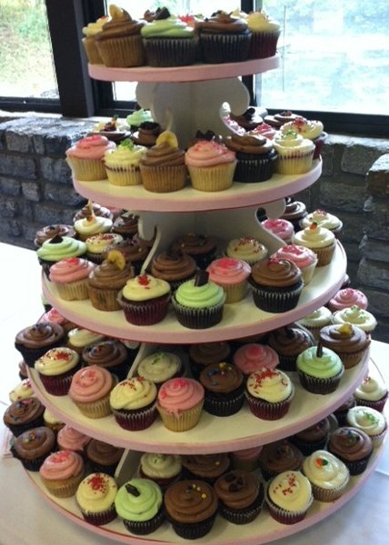 1353263602681 WeddingCupcakes Cincinnati Wedding Cake