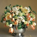 130x130 sq 1366915448322 urn with draped flowers   can be more oval in shape