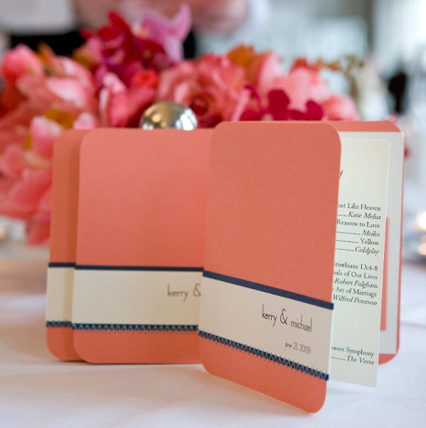 Ceremony Program Ideas Wedding Invitations Photos By Paper And Thread