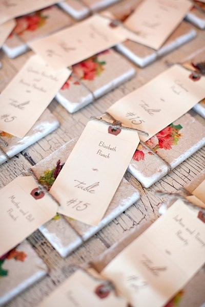 Place Card Ideas, Wedding Invitations Photos by ByCary - Image 1 of 110