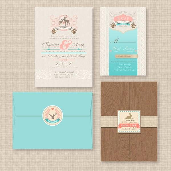 themed wedding invitations, wedding invitations photos by april, Wedding invitations