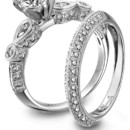<p> Platinum Guild International - Simon G platinum engagement ring</p>  <p> See more Platinum Guild International engagement rings here. </p>