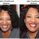 130x130 sq 1389678507095 jessicas aunts traditional makeup before and afte