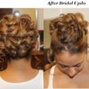 130x130 sq 1389678524652 joan wedding updo before and afte