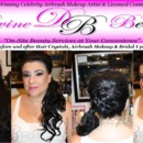 130x130 sq 1389678659181 vickie wedding before and after hair crystal