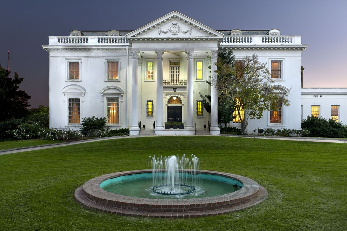 Luxury Mansion Plans Old Governor S Mansion Venue Baton Rouge La Weddingwire