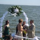 130x130 sq 1354648064063 weddingonboat
