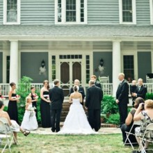 220x220 sq 1384879043663 wedding on front steps of hous