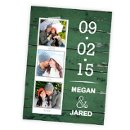 130x130 sq 1362092217872 weddingwiresavethedategreenwoodgrainphoto