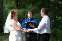 Northern Michigan Wedding Officiant & Photographer photo