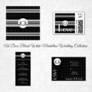 130x130 sq 1450369080525 art deco black white silver medallion wedding coll