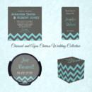 130x130 sq 1450369126658 charcoal aqua chevron wedding collection