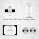 130x130 sq 1450369178142 white black silver damask wedding collection