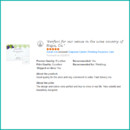 130x130 sq 1460667414331 grapevine garden wedding response card review