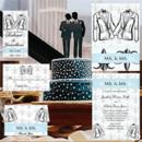 130x130 sq 1468017167932 blue and black tuxedo same sex wedding