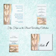 220x220 sq 1450369023713 flip flops on the beach wedding collection