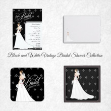 220x220 sq 1450369088166 black and white vintage bridal shower collection