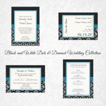 220x220 sq 1450369100090 black white dots damask wedding collection