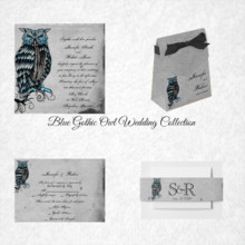 220x220 sq 1450369114938 blue gothic owl wedding collection