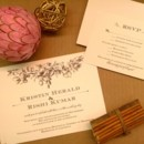 130x130 sq 1415144979750 brown vintage floral wedding invitations