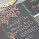 130x130 sq 1430946577156 gray coral pocketfold invitations