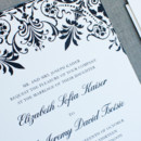 130x130 sq 1430946637610 damask thermography wedding invitations