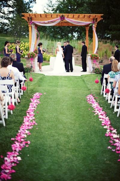 Kenosha park wedding