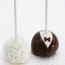 130x130 sq 1426190912014 bride  groom cake pops