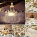 130x130 sq 1426266944942 white wedding dessert table2
