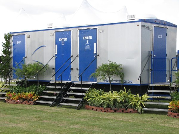 United Site Services Portable Restrooms Photos Event