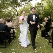 220x220 sq 1536621082176 outside ceremony with chairs in front on lawn hous