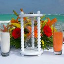130x130 sq 1316730495964 beachweddinghourglasssandceremonysetup