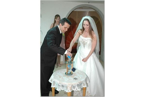 photo 5 of Heirloom Hourglass Wedding Unity Sand Ceremony