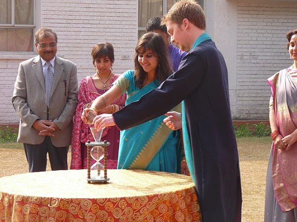 photo 6 of Heirloom Hourglass Wedding Unity Sand Ceremony