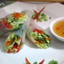 130x130 sq 1480626863079 asian vegetable spring roll with sesame ginger sau