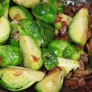 130x130 sq 1480626882788 bacon melted brussel sprouts