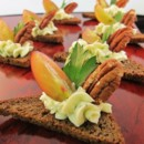 130x130 sq 1480626897981 bleu cheese canape with toasted pecans  grapes   p