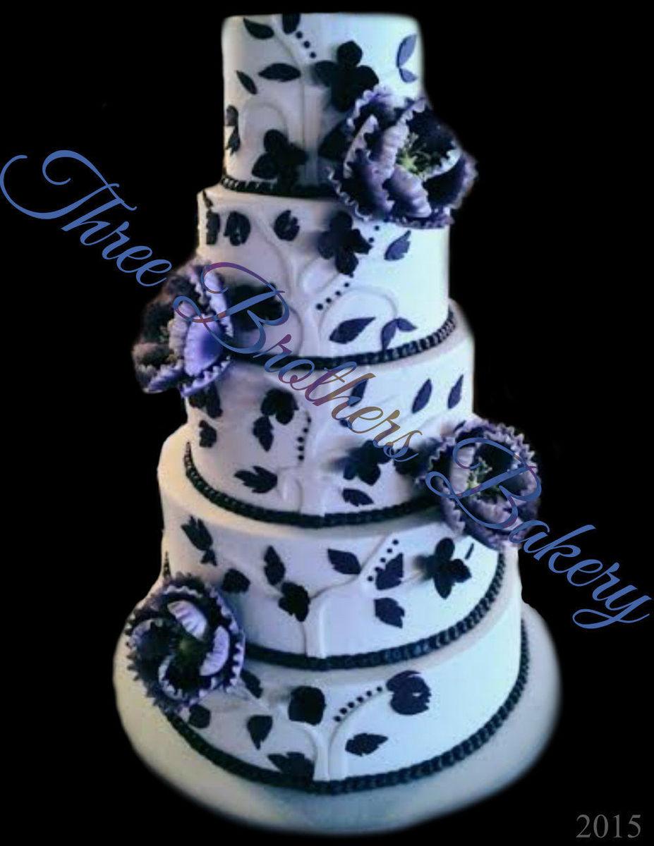 Three Brothers Bakery Wedding Cakes