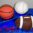 130x130 sq 1288756352776 basketballbaseballfootballbirthdaygroomscakers09