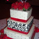130x130 sq 1310610548062 damaskredweddingcakers11