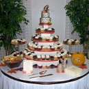 130x130 sq 1310610803202 fallcupcakeweddingcakers10
