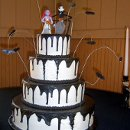 130x130 sq 1310610952874 nightmarebeforechristmashalloweenweddingcakers10