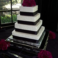 220x220 sq 1310610758655 deeprichplumweddingcakers10